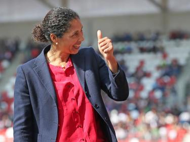 Bundestrainerin Steffi Jones freut sich über machbare Aufgaben in der WM-Quali
