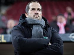 FCA-Trainer Manuel Baum will mit ekligem Auftreten der Mannschaft die Gegner mürbe machen