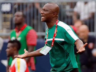 Trainer Kwesi Appiah und die ghanaische Nationalmannschaft fühlen sich betrogen