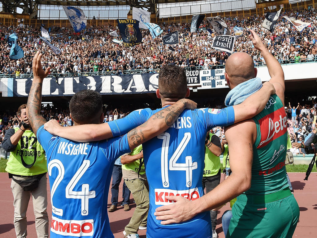 Der SSC Neapel tritt in diesem Jahr einmal mehr als starkes Kollektiv auf
