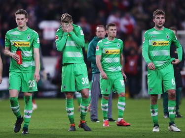 Borussia Mönchengladbach hat sich aus der Spitzengruppe verabschiedet
