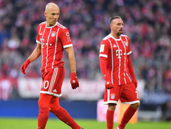Wie lange tragen Arjen Robben und Franck Ribéry noch das Bayern-Trikot?