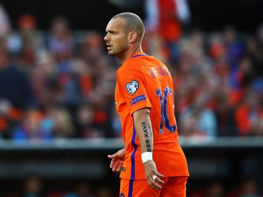 Wesley Sneijder darf ein letztes Mal für die Elftal ran