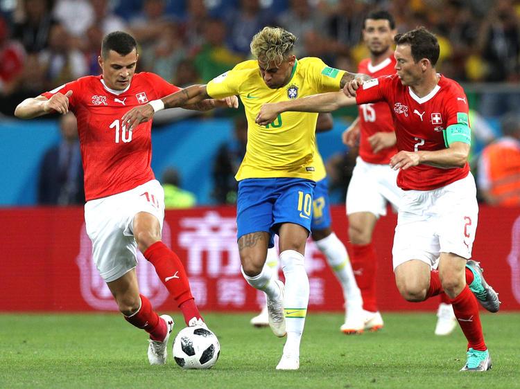Brasilien startet mit einem Unentschieden gegen die Schweiz in die WM