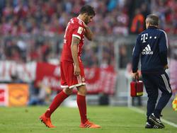 Javi Martínez verletzte sich beim Spiel gegen Freiburg