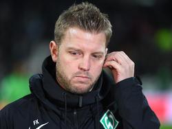 Florian Kohfeldt hat einen HSV-Mitarbeiter beim Training entdeckt