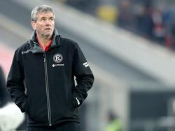 Fortuna-Coach Friedhelm Funkel konnte es nicht glauben