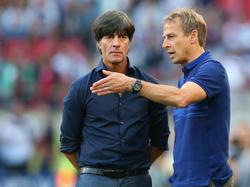 Sieht die langfristige Planung mit Bundestrainer Joachim Löw als großen Vorteil: Jürgen Klinsmann (re.)