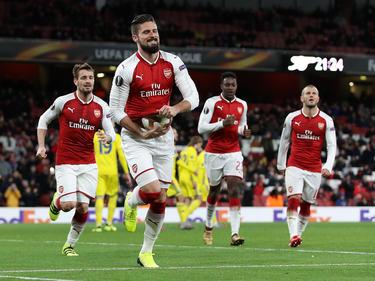 FC Arsenal feiert Schützenfest in der Europa League