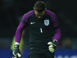 Jack Butland hatte sich im Spiel gegen Deutschland verletzt