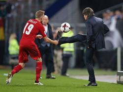 Joachim Löw ist mit der Leistung seines Teams zufrieden