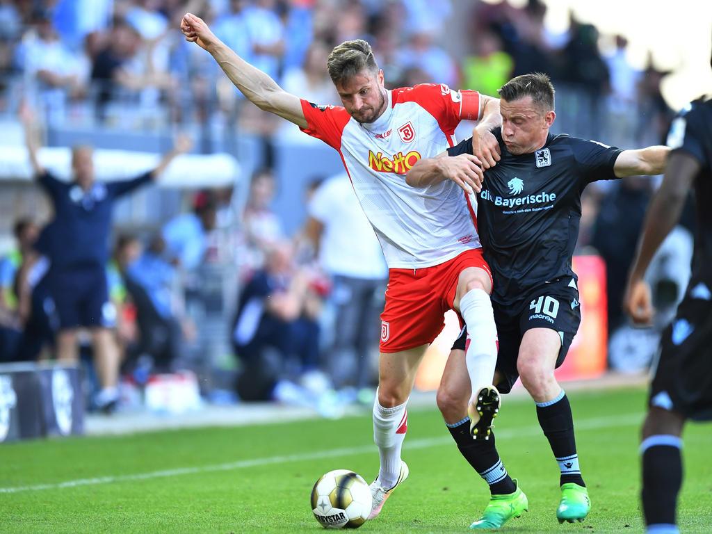 Markus Palionis hat seinen Vertrag in Regensburg verlängert