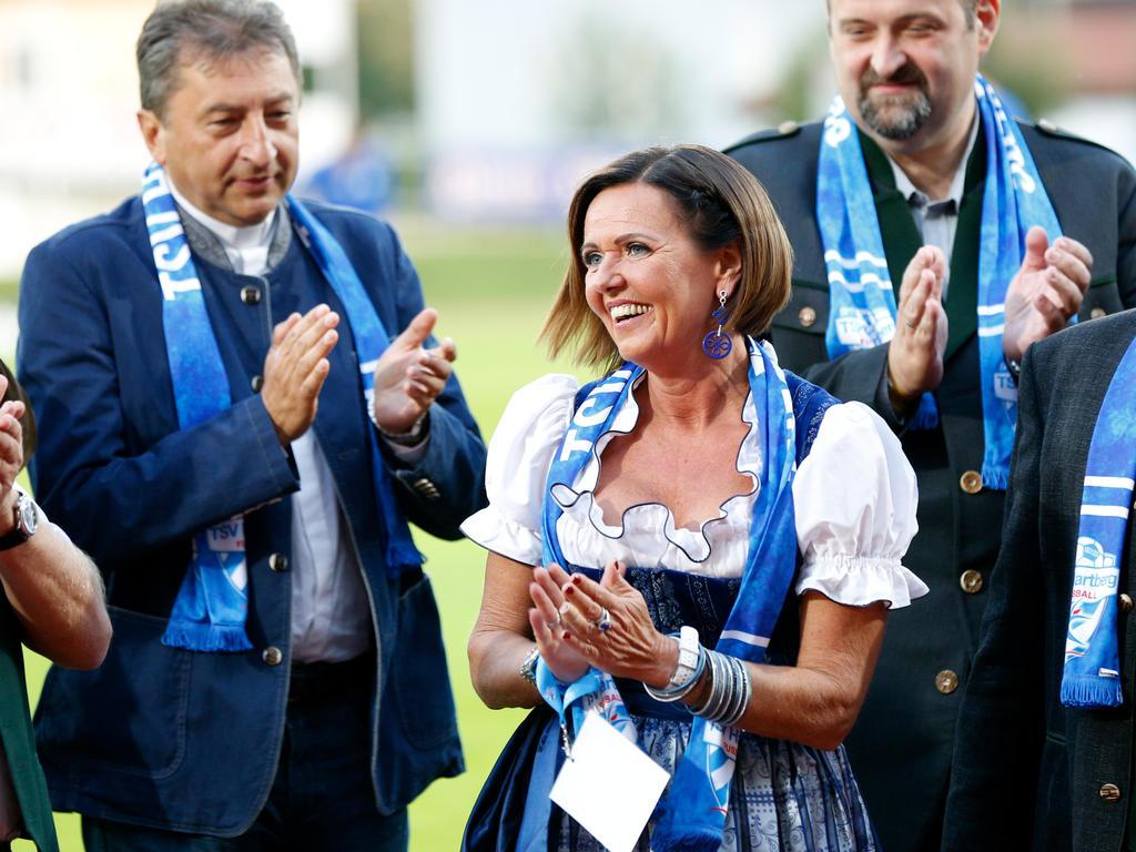 Hartberg-Präsidentin Brigitte Annerl hofft doch noch auf einen positiven Ausgang in der Lizenz-Causa
