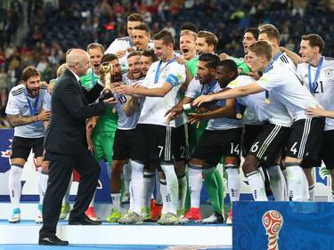 Die deutsche Nationalmannschaft ist wieder Weltranglistenerster