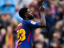 Samuel Umtiti steht wohl vor einem Abschied aus Barcelona