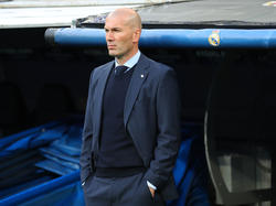 Zinédine Zidane gewann am Samstag mit Real Madrid erneut die Champions Legaue