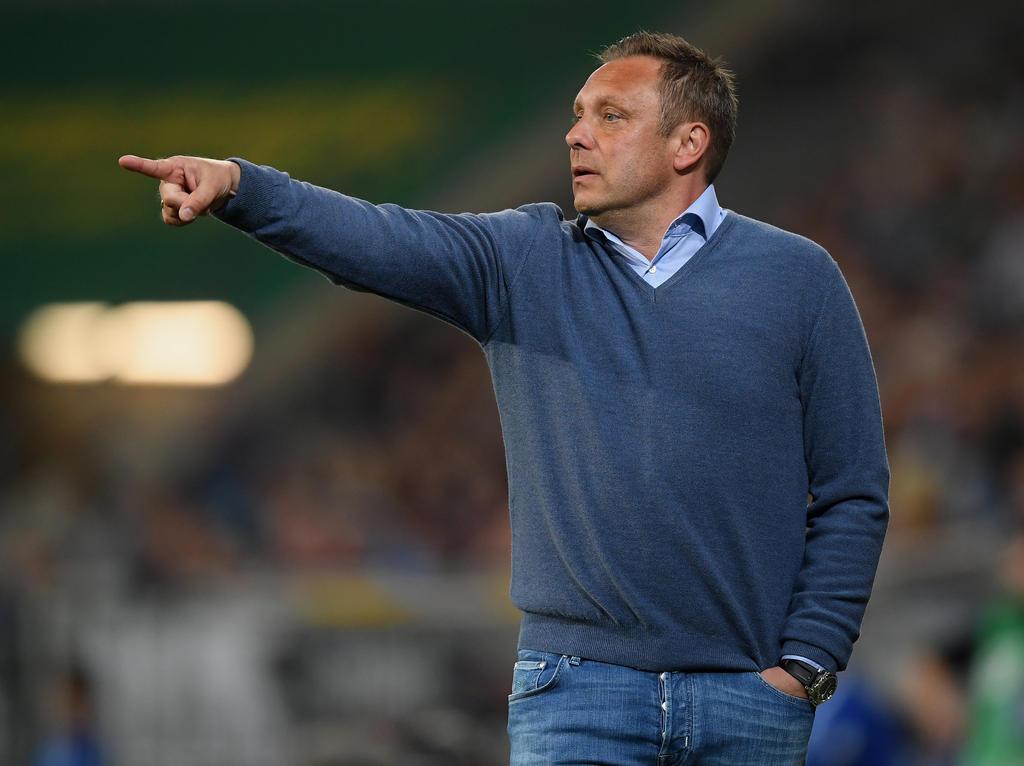 Hannovers Trainer André Breitenreiter hat mit seiner Mannschaft problemlos die Klasse gehalten
