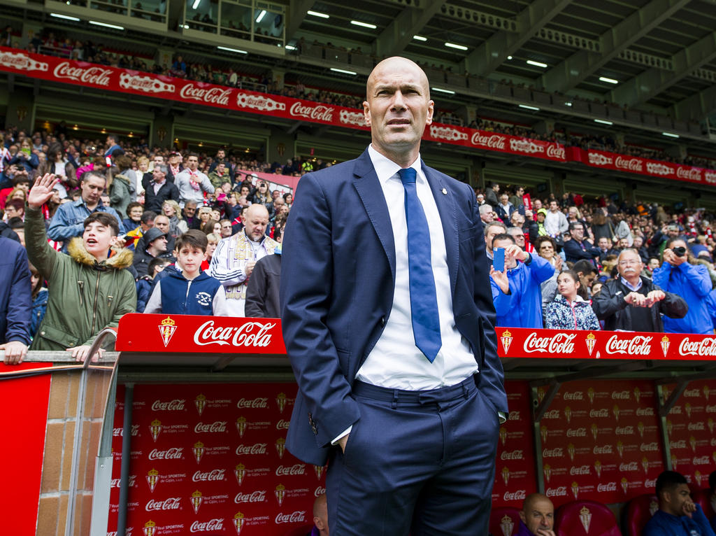 Zinédine Zidane warnt die Bayern