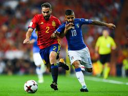 Spanien besiegte Italien im Spitzenspiel der WM-Qualifikation