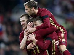 Russland gewinnt locker mit 3:0 gegen Litauen
