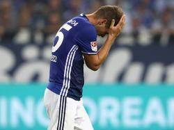 Klaas-Jan Huntelaar musste gegen die Bayern verletzt vom Feld
