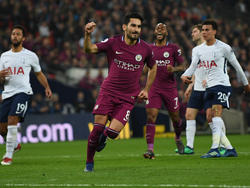 Gündogan marcó de penalti sel segundo gol del City. (Foto: Getty)