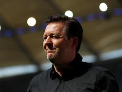 Christian Titz freu sich beim Hamburger SV über ein neues Offensivtalent
