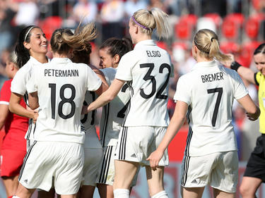 Die DFB-Frauen kletterten im internationalen Ranking