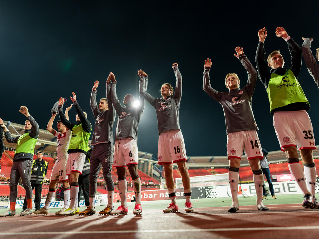St. Pauli gewinnt in Nürnberg