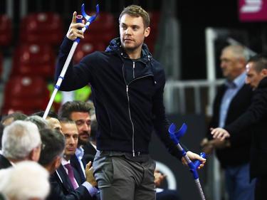 Wird Manuel Neuer rechtzeitig zur WM in Russland fit?