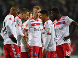Hamburger SV in der Bundesliga im freien Fall