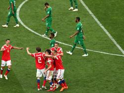 Der saudische Fußballverband ist enttäuscht vom Auftritt seiner Spieler