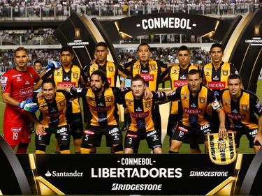 Once titular de The Strongest ante Santos en marzo. (Foto: Getty)