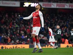 Pierre-Emerick Aubameyang mit schwachem Start bei Arsenal
