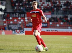 Absteiger Kaiserslautern verpflichtet Stürmer Elias Huth