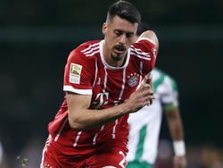 Sandro Wagner traf für den FC Bayern