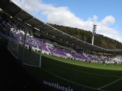 Das Stadion in Aue ist fertiggestellt