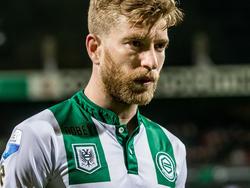 FC Groningen had gerekend op de drie punten tegen Excelsior, maar de ploeg verloor met 1-2 van de Rotterdammers. De teleurstelling is duidelijk te zien bij aanvoerder Michael de Leeuw. (12-03-2016)