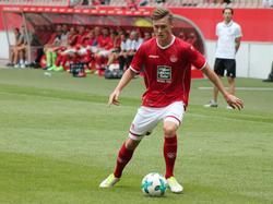 Kaiserslautern bindet Nachwuchshoffnung Carlo Sickinger (Bildquelle: twitter/rote_teufel)
