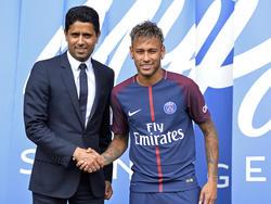 Nasser Al-Khelaifi besuchte Neymar in Brasilien