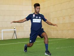 Blauensteiner absolvierte in Wien noch Leistungstests, dann ging es nach Hartberg. © FK Austria Wien/Köhler
