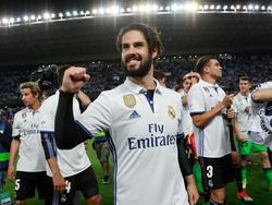 El futbolista del Real Madrid Isco Alarcón ayer en Málaga. (Foto: Getty)