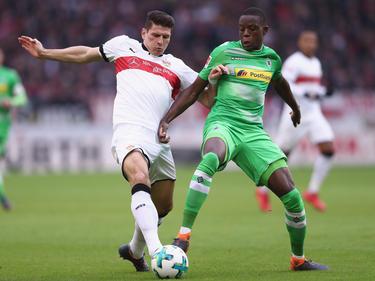 Denis Zakaria (r.) verpasste in dieser Saison erst ein Bundesliga-Spiel