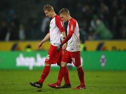 Fehlte beim Training des FC Augsburg: Martin Hinteregger (l.)