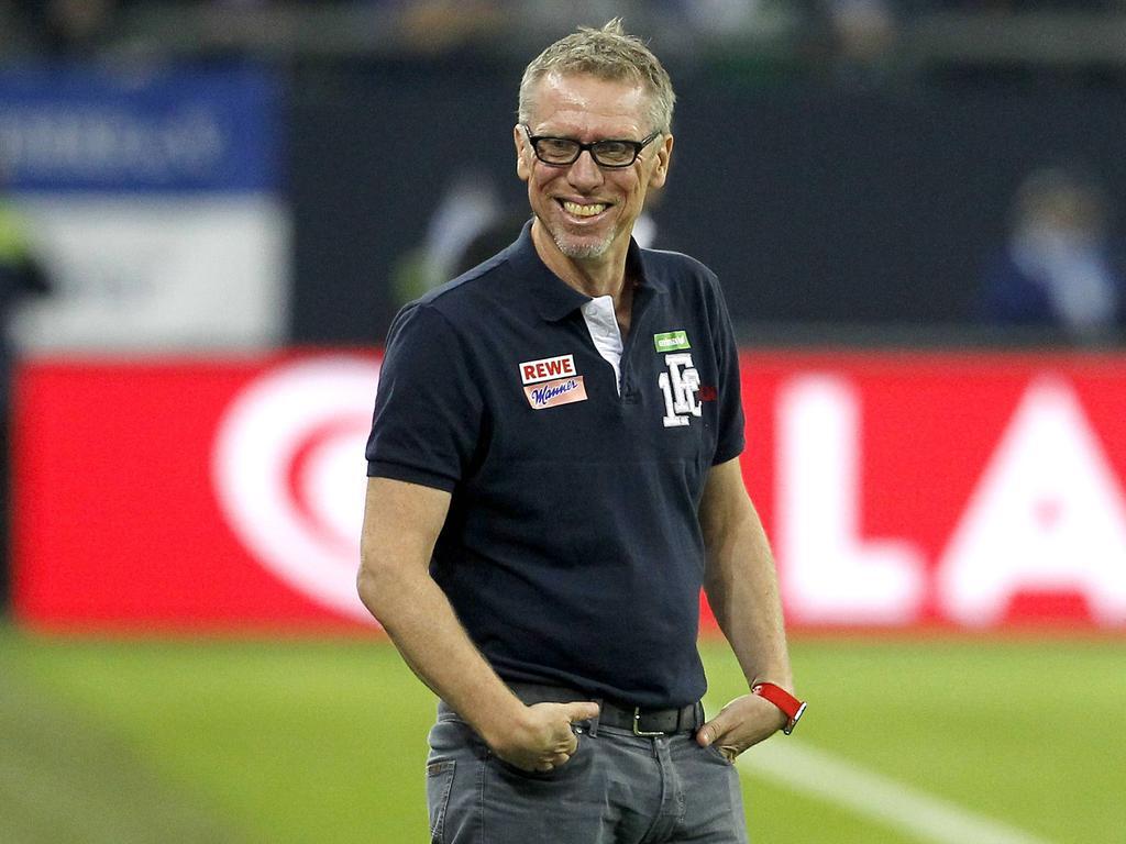 Peter Stöger erlangt bereits jetzt einen Kölner Kultstatus