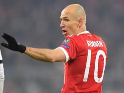 Arjen Robben bekundete unlängst seinen Ärger