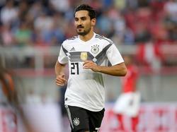 Ilkay Gündogan konzentriert sich mit der deutschen Nationalmannschaft auf die WM
