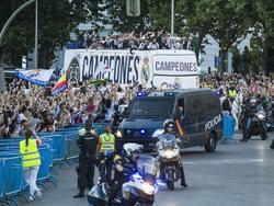 Die Real-Stars feierten den Titel mit Tausenden in Madrid