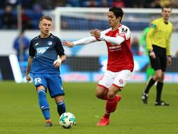 Die Mainzer um Yoshinori Muto (r.) blieben trotz zweier Tore offensiv blass
