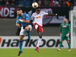 RB Leipzig zittert sich in der Europa League ins Achtelfinale